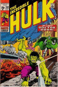 The Incredible Hulk 143 1st Series 1962-1999 September 1971