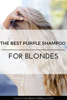 The beauty blunder that plagues most of us blondes is brassy hair. Finding the BEST product to fix brassy hair can be a challenge - until NOW! Click here to find out which shampoo is the BEST to eliminate brassy hair.