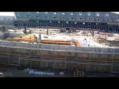 13 de Febrero 2014. Obras Nuevo Estadio Atlético de Madrid