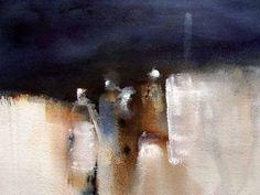 "Saatchi Online Artist: Margareta Jungerth Boo; Watercolor, Painting ""ancestors"""