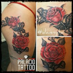 #roses #rosas #tattoo de #dannyta