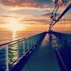 The best sunset views are on a cruise! Oh Beautiful, Beautiful Sunset, Best Sunset, Princess Cruises, Dream Vacations, Sunrise, Around The Worlds, Sky, Inspiration
