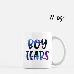 About this mug: - 100% White Ceramic - Dishwasher & Microwave Safe - Available in 11 oz. or 15 oz. sizes (chosen at check out) - Two-sided Design Changes can be made upon request! I am always happen to create a custom design. My mugs are made using a high quality sublimation process that adheres specialty inks onto the mugs. This process leaves a permanent image onto your mug! The images will not peel, rub, or scratch off like vinyl or marker. This item is made to order and will be shipp...