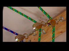 Watch The Genius Way He Clears His Garage Floor With This Unusual Storage System! (EASY!) - DIY Joy