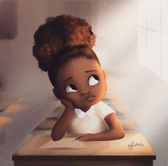 Makeup natural hair art, roller set natural hair, half up half down na. Art Black Love, Black Girl Art, Cartoon Kunst, Cartoon Art, Cartoon Faces, African American Art, African Art, Natural Hair Art, Natural Hair Styles