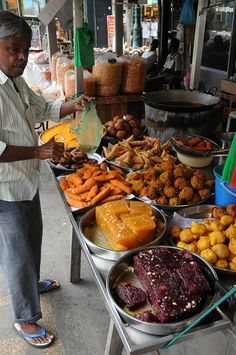 Street Food Vendor, Penang, Malaysia. - Food in malaysia is supposed to be delicious - guess ill have to find out for myself :D
