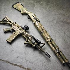 Multicam Long Guns