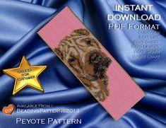 Peyote Pattern  Beading Pattern  Dog  Shai by BeadingPatterns2013