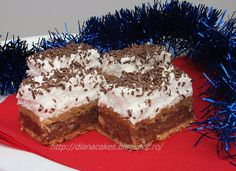 dian@'s cakes: Prajitura Katy-Kato Romanian Desserts, Romanian Food, Romanian Recipes, My Favorite Food, Favorite Recipes, Healthy Freezer Meals, Cake Cookies, Good Food, Food And Drink