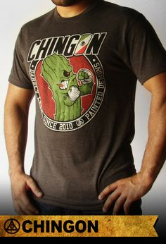 *Chingon fighting cactus artwork on front.   *50% Polyester/25% Cotton/25% Rayon   *Pre-Shrunk   *Sizes S-2XL