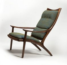 Lounge Chair | Handcrafted by Sam Maloof Woodworker, Inc. Ph… | Flickr