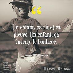 10 - Un enfant, ça rit et ça pleure. Un enfant, ça invente le bonheur. – Romain Guilleaumes Suivez l'aventure sur #1f1000a #nomade #libre #fulltimerv #kids #smile #happy #bonheur