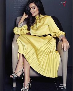 Share, rate and discuss pictures of Nadine Nassib Njeim's feet on wikiFeet - the most comprehensive celebrity feet database to ever have existed. Gorgeous Feet, Shades Of Yellow, Celebrity Feet, Sexy Feet, Classy Outfits, Fashion Outfits, Womens Fashion, Wrap Dress, Women Wear