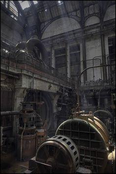 Another look at this abandoned generating station http://www.serrurier-paris-artisan.fr/serrurier-paris-1/  Plus de découvertes sur Souterrain-Lyon.com