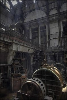 Another look at this abandoned generating station…