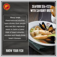 A rich seafood broth brimming with the goodness of scallops, mussels and fish fillets is sure to keep you away from heart diseases!