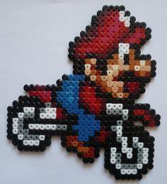 Mario Hama beads by  fun-pixel-art