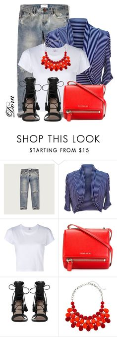 """Bolero"" by doradabrowska ❤ liked on Polyvore featuring Abercrombie & Fitch, jon & anna, RE/DONE, Givenchy and Zimmermann"