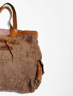 Leather   Jute Tote Bag Tote Purse, Clutch Wallet, Leather Wallet, Leather  Handbags 02ff3c5ec7