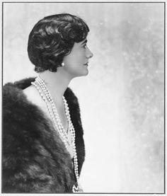 Gabrielle 'Coco' Chanel - 1930's - Photo by Adolf deMeyer - @~ Watsonette