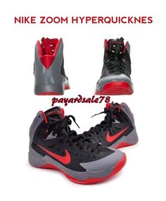 NEW MEN\u0027S NIKE BASKETBALL SHOES SNEAKERS HYPER QUICKNESS ZOOM HIGH TOPS  SIZE 13 #Nike #