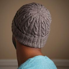 Looking for your next project? You're going to love Man-Approved Cabled Hat Pattern by designer Chandi Agee.