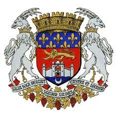 Blason bordelais - drapeaux, armoiries et emblèmes de la ville de Bordeaux Coat Of Arms, Unesco, Culture, Marquis, Cities, Europe, Logos, Art, Tatoo