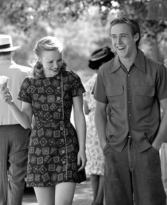Rachel McAdams, Ryan Gosling in The Notebook