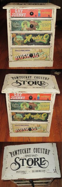 Country Store Table