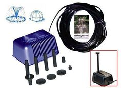 Solar Pump For 5/6 Watt Solar Panel by SW Closeout. $36.99. Replacement Pump For 5 watt or 6 watt Solar Panel.. Pump With filter.. 12V DC solar pump.. Dimensions: 13cm (L) x 10cm (W) x 9cm (H).. Included 5 Different Head For Waterfall Designs.. The lifted water height is up to 40 inches. 15ft cable. Perfect for creating a new fountain, waterfall anywhere in the pond, yard or patio.