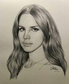 Lana Del Ray Illustration