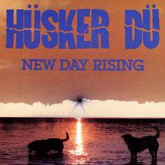 New Day Rising. Released the last of January in 1985. #HüskerDü http://www.roeht.com/new-day-rising/ #vinyl #vinylrecords #vinyllove #vinyloftheday