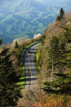 Blue Ridge Parkway, Waterrock Knob, North Carolina