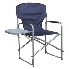 Image for Folding Fabric Director's Chair with Table