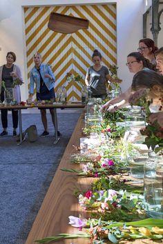 Blumen Workshop mit bloomon