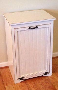 16 Superb Kitchen Cabinet Garbage Cans : Large Tilt Out Trash Can Cabinet.  . Cabinet