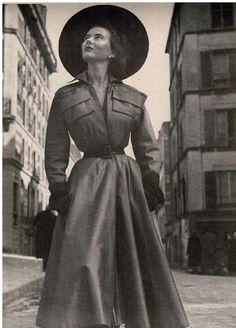 April 1949 Dior coat
