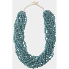 Toast Multi Strand Necklace ($52) ❤ liked on Polyvore