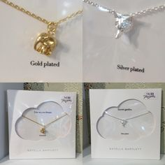 Gold and silver plated jewellery at Pink Cadillac Boutique x more girly treats instore and online www.pinkcadillac.co.uk