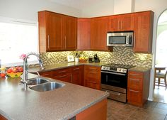 Best Beautiful Grimslov Medium Brown Ikea Kitchen Cabinets 640 x 480