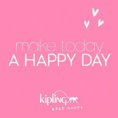 #kipling make happy!