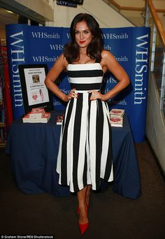 Ladylike loveliness!Vicky Pattison opted for something slightly more demure than her usua...