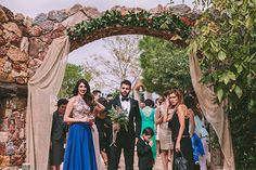 Chic eco-friendly wedding | Eleni