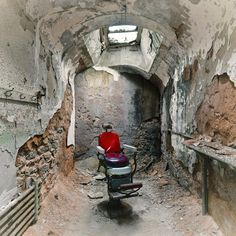 Exploring Eerie and Abandoned Architecture with David. Instagram Blog, Instagram Posts, Desolation Row, Eastern State Penitentiary, Museum Studies, Found Art, Weird Creatures, His Travel, Museum Exhibition