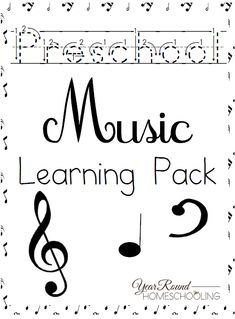 Free Preschool Music Lesson Learning Pack