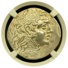 Odessius Silver Tetradrachm NGC About Uncirculated