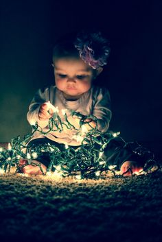 Chirstmas pics! Would love to see all my great grand kids in lights like this for christmas