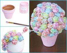 DIY Lollipop Bouquet - A Little Craft In Your DayA Little Craft In Your Day