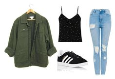 """Untitled #128"" by fashionfreakyforreal ❤ liked on Polyvore featuring L'Agence and adidas"