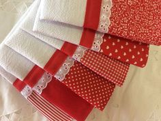 Dish Towels, Hand Towels, Tea Towels, Fridge Handle Covers, Bedding And Curtain Sets, Fabric Storage Boxes, Kitchen Towels, Shabby Chic Decor, Baby Quilts